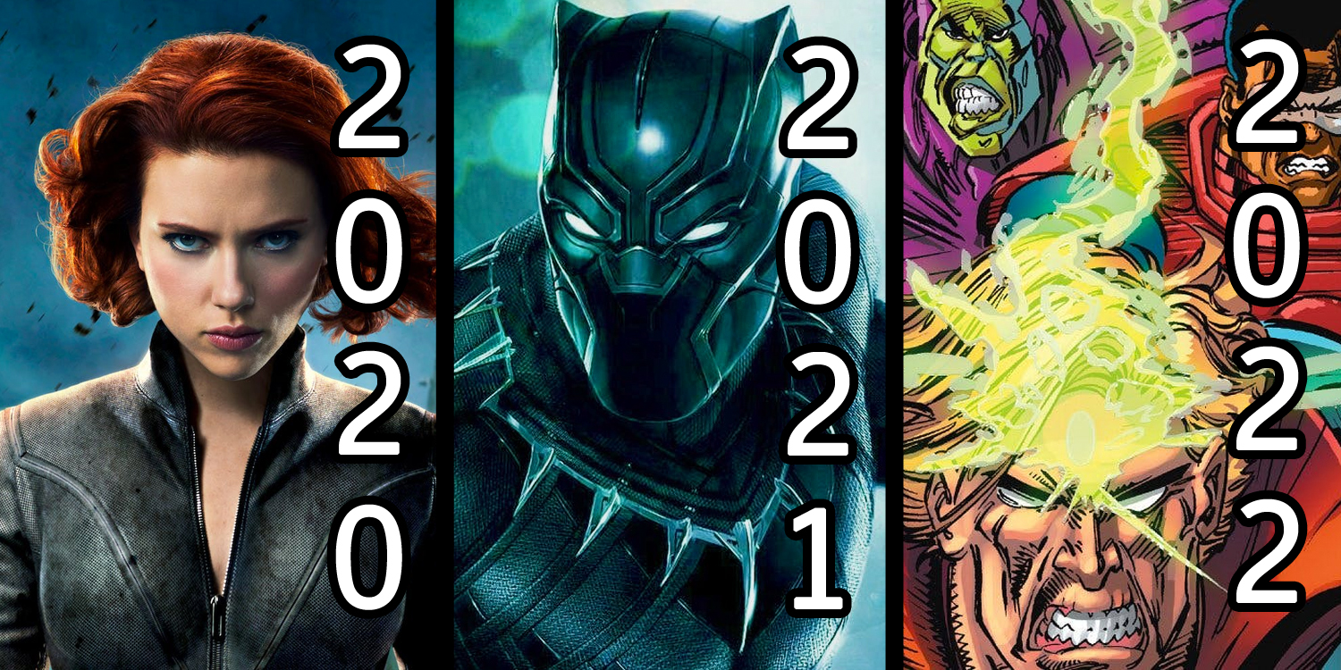 2020 2021 mcu marvel 2022 phase films movies predicting release marvels predictions dates date avengers film announced spiderman untitled entertainment