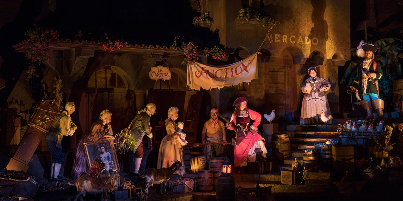 Pirates of the Caribbean bride auction revamp