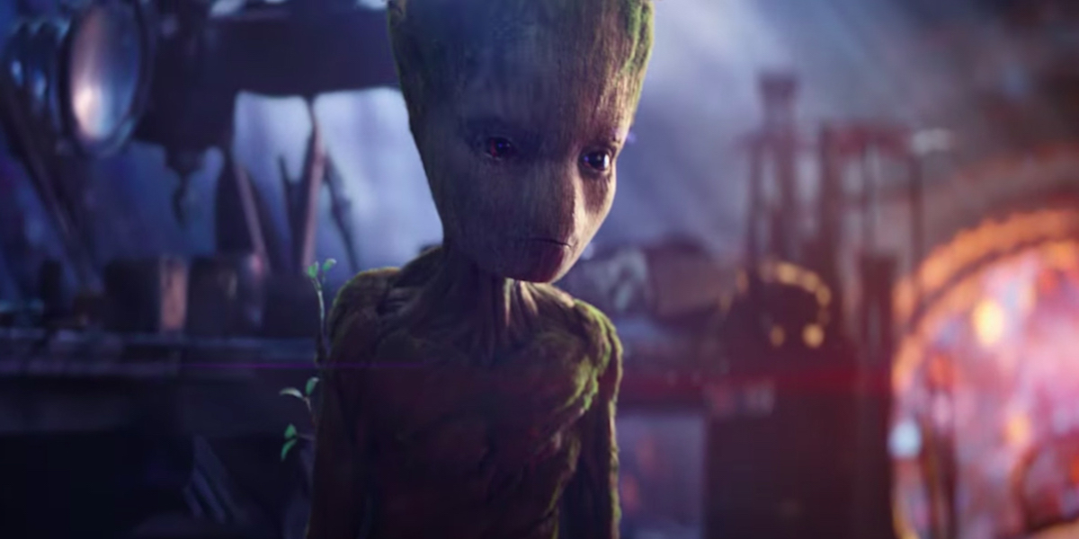 Vingadores - Guerra Infinita - Groot Sasses Star Lord - TV Spot