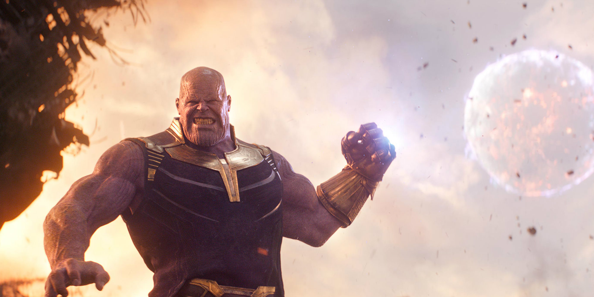 Thanos Throws a Moon in New Avengers: Infinity War Images