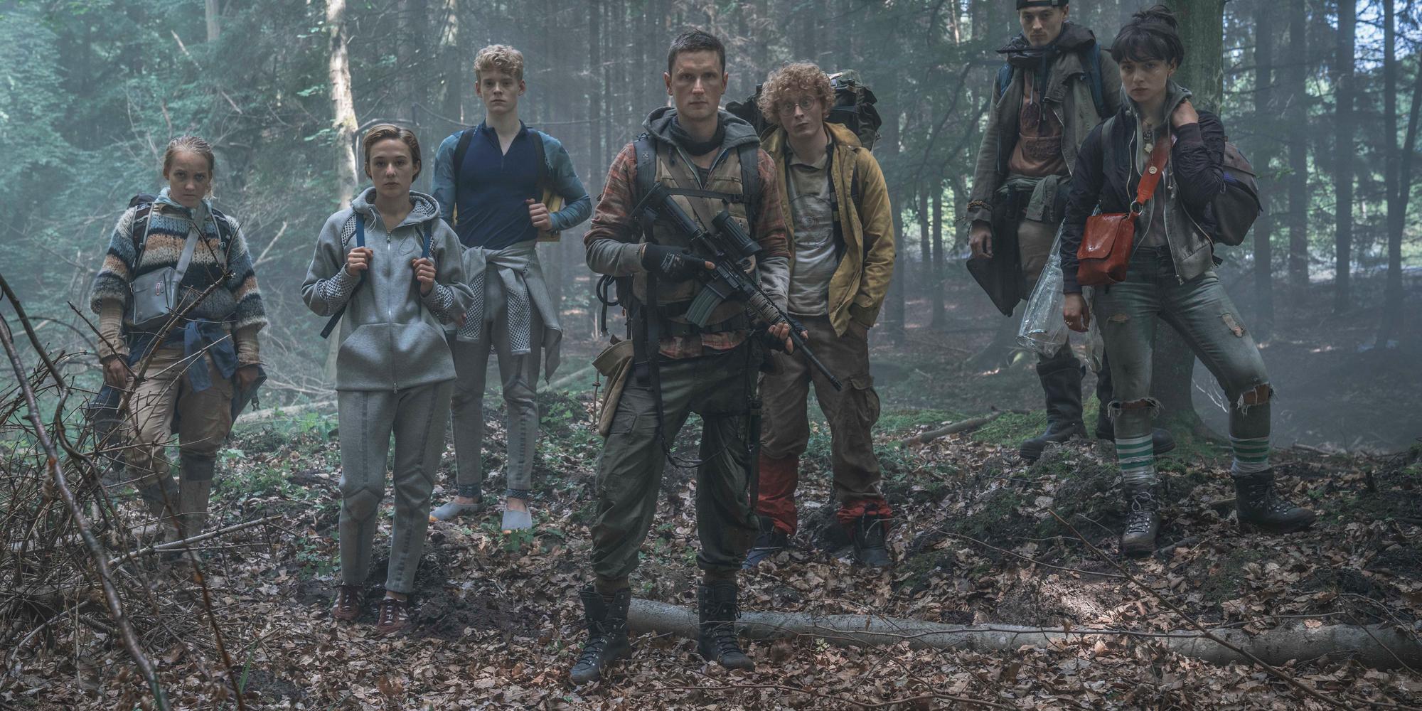 The Rain Cast Netflix