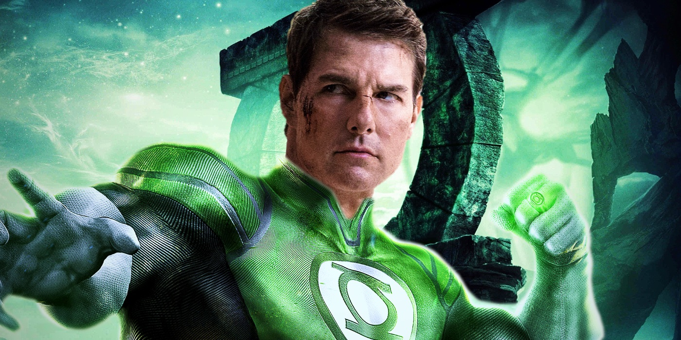 why tom cruise as green lantern makes sense screen rant. Black Bedroom Furniture Sets. Home Design Ideas