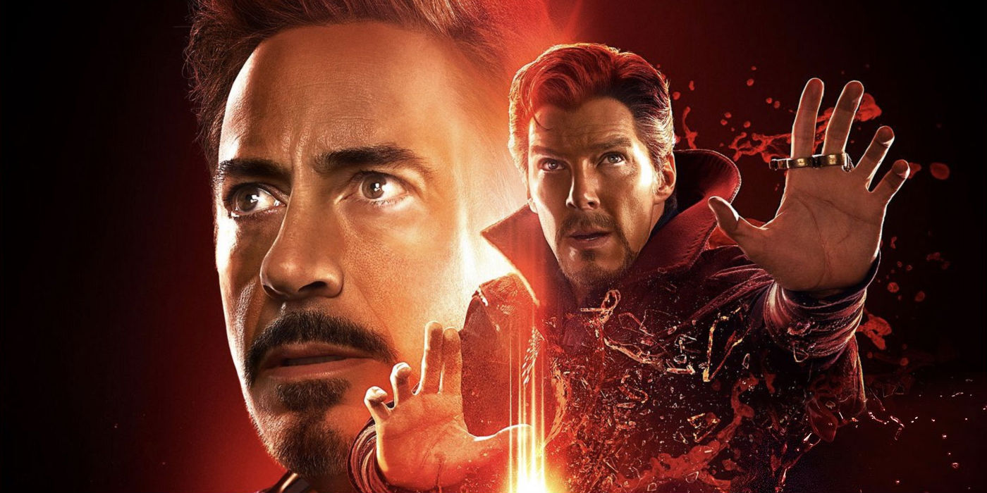 Avengers Infinity War - Doctor Strange and Iron Man