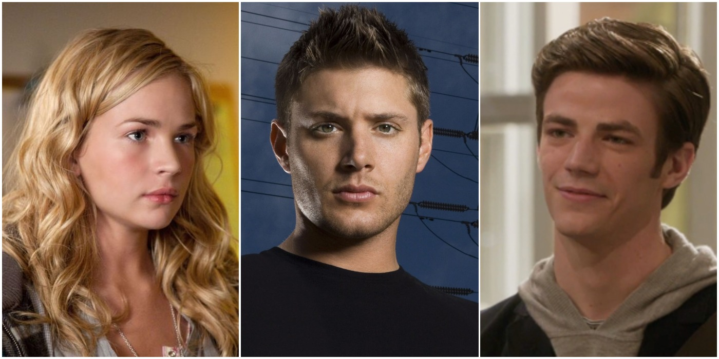 CW Stars Britt Robertson Jensen Ackles Grant Gustin