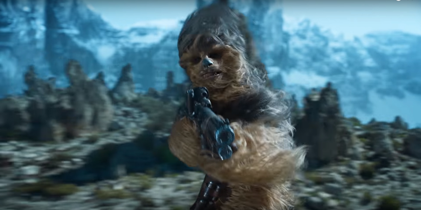 Solo: Solo: A Star Wars Story Ad Teases Train Heist