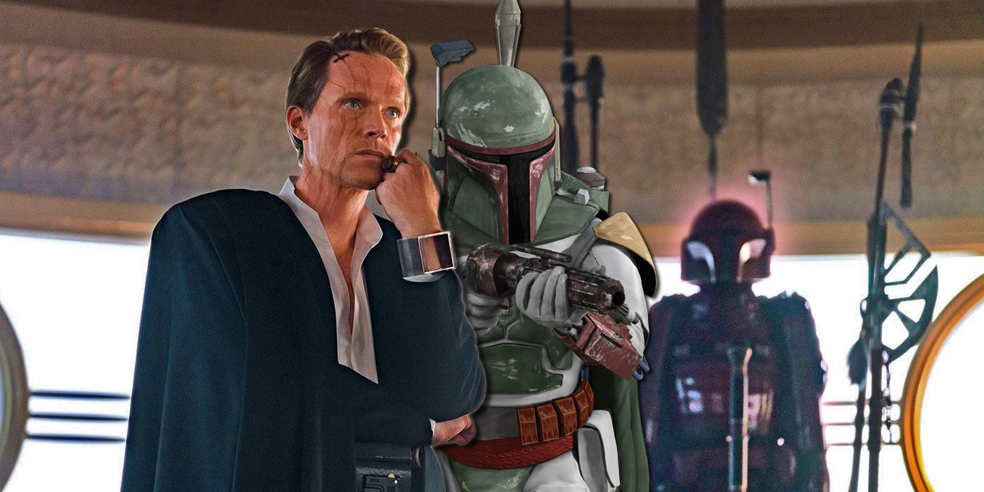 Dryden Vos and Boba Fett in Solo A Star Wars Story