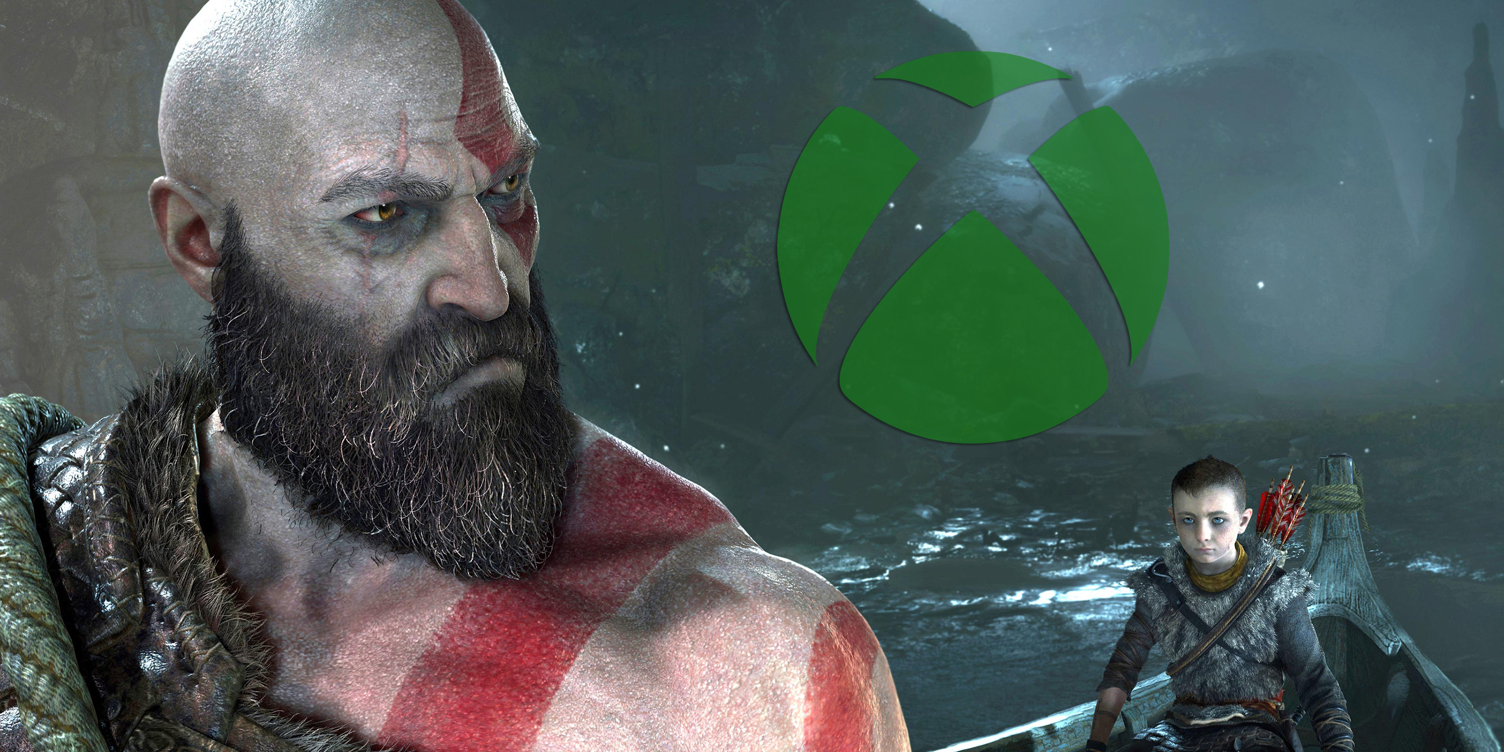 God of War with Xbox Logo