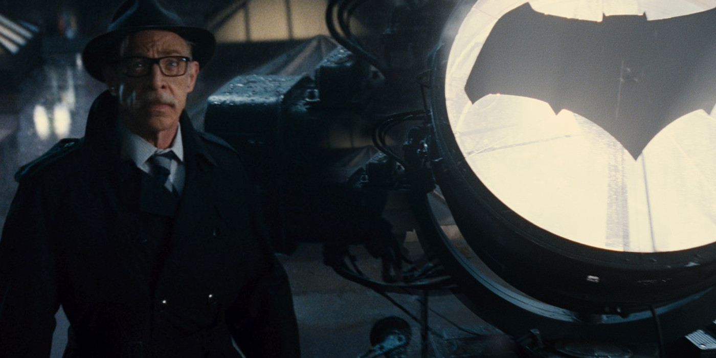 JK Simmons as Comissioner James Gordon in Justice League