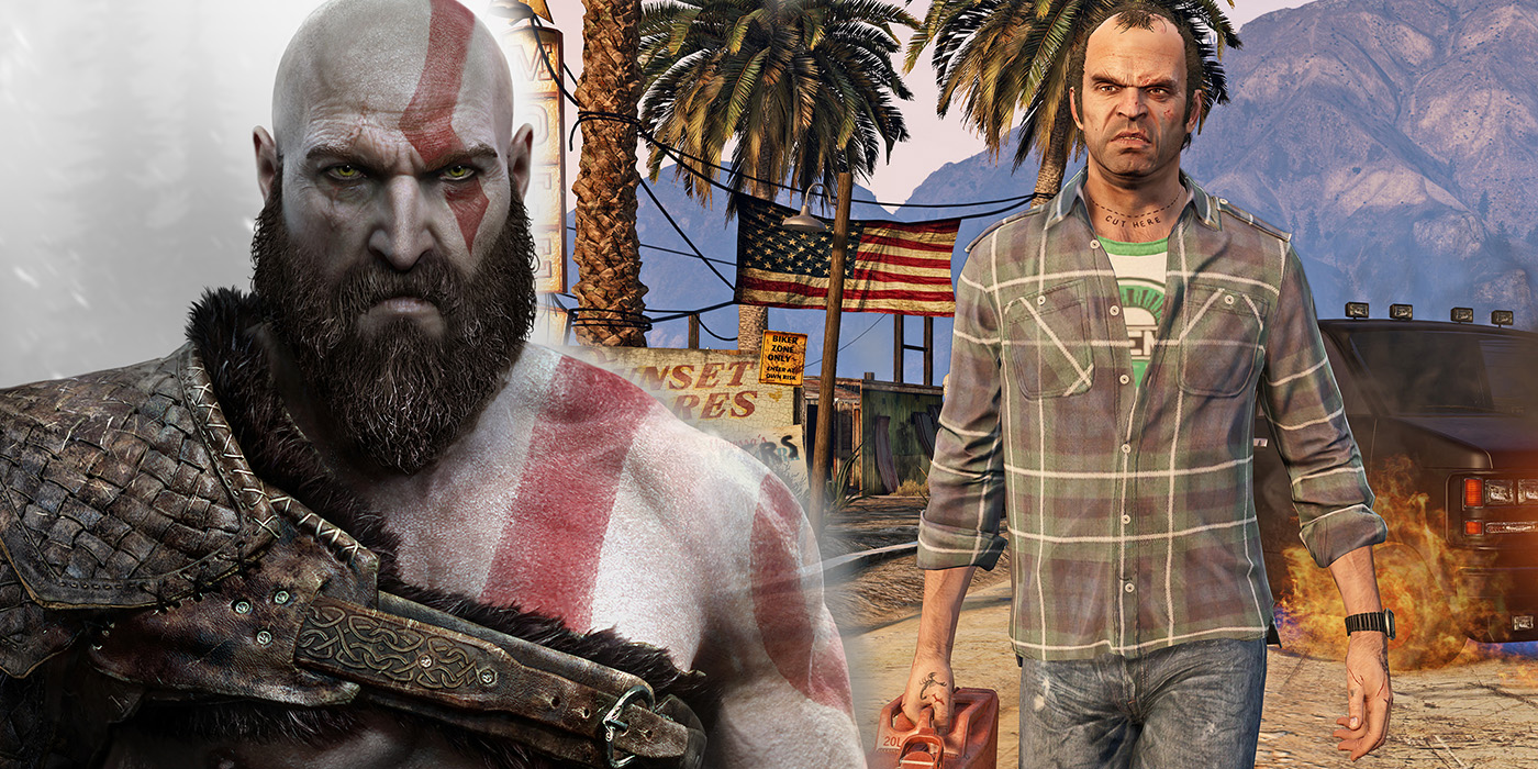 TV and Movie News God of War & Grand Theft Auto Crossover in