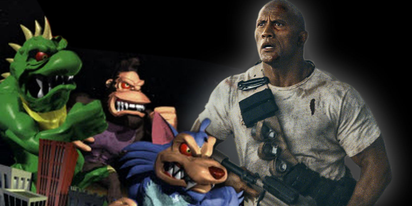 Rampage Video Game and Dwayne Johnson