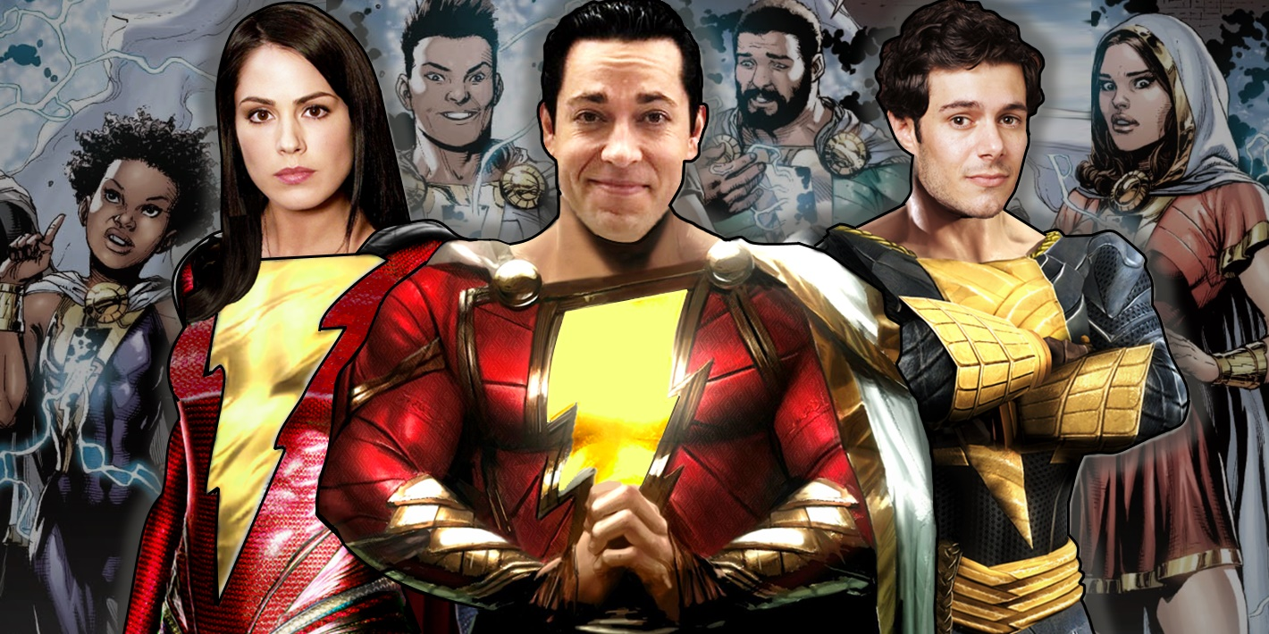 The Actors Playing DCEU's Adult Shazam Family | Screen Rant