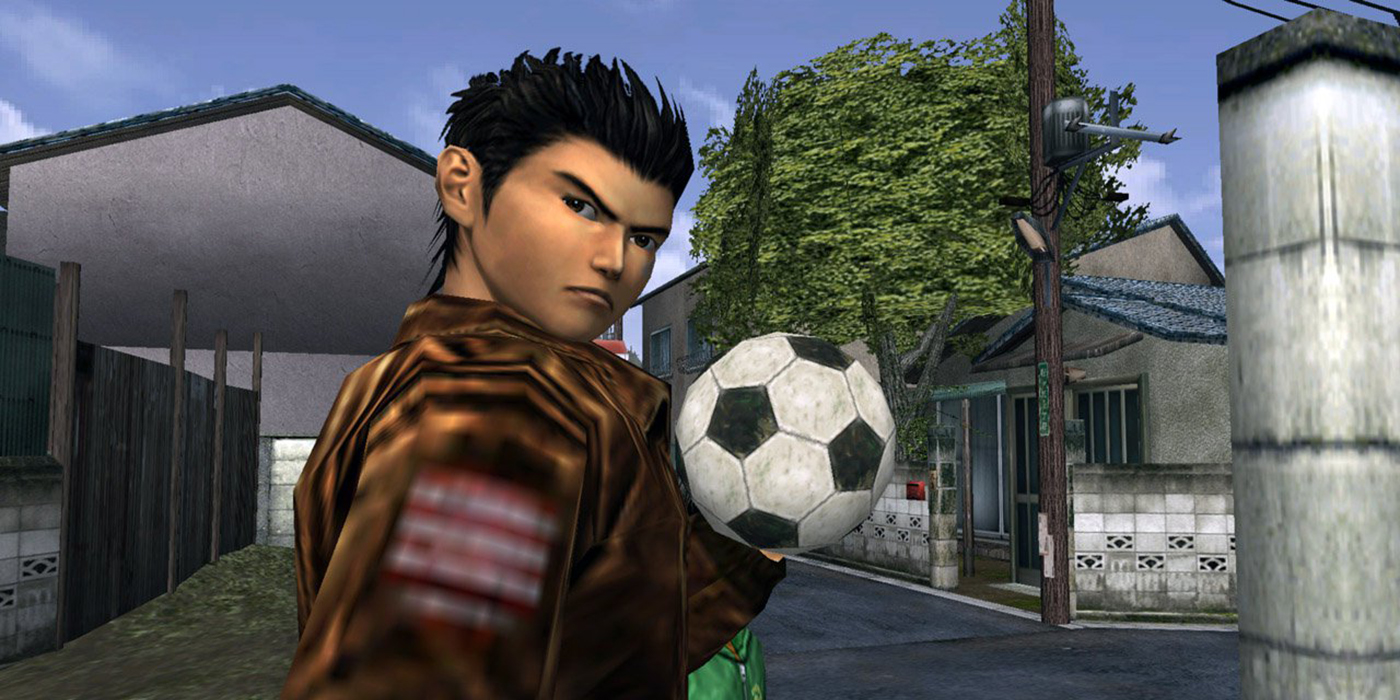 Shenmue 2 football
