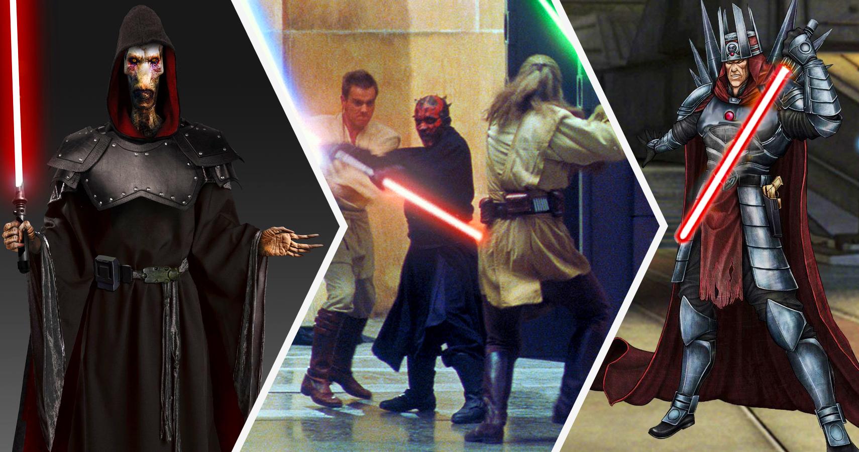 Star Wars: 15 Sith Far More Powerful Than Darth Vader