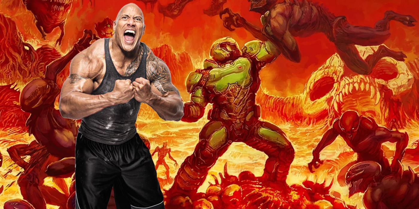 The Rock Doom movie