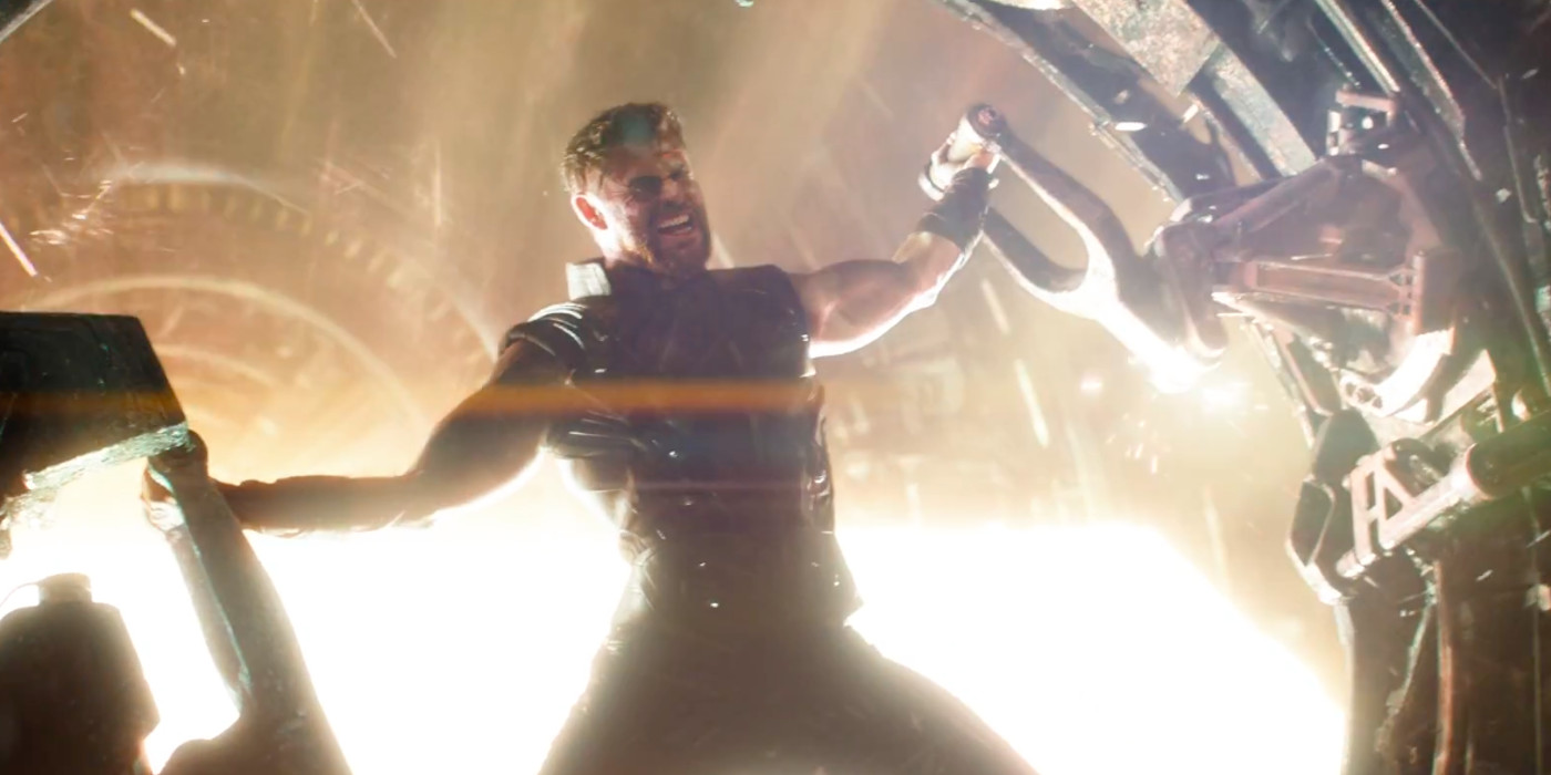 Thor in Star Forge in Avengers Infinity War