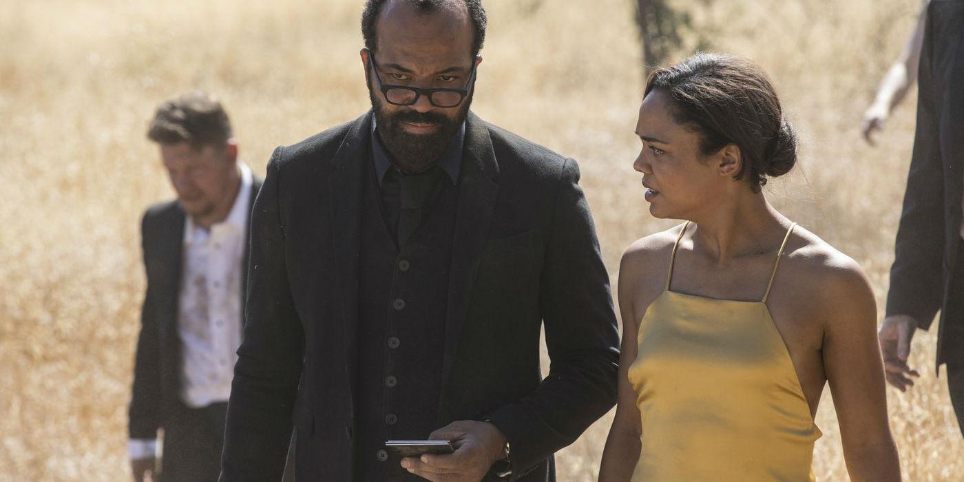 Westworld season 2 - Bernard and Charlotte