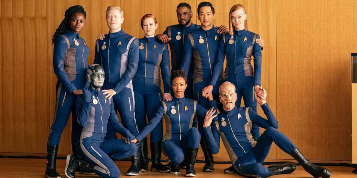 The crew of Star Trek Discovery in season finale 'Will You Take My Hand?'