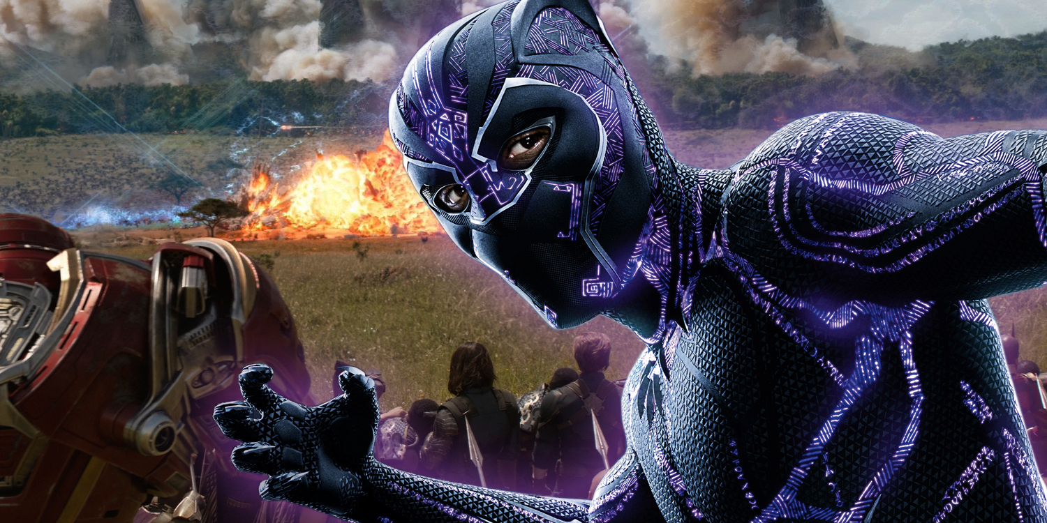 Marvel Black Panther Black Panther Avengers Infinity: Black Panther's Success Hurts Infinity War's Final Act
