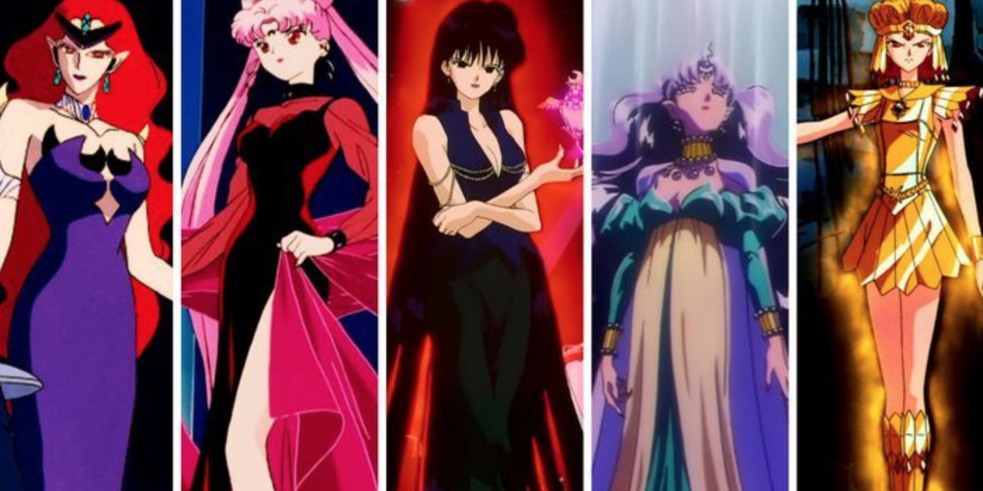 Sailor Moon: Every Major Villain Ranked From Weakest To Most Powerful