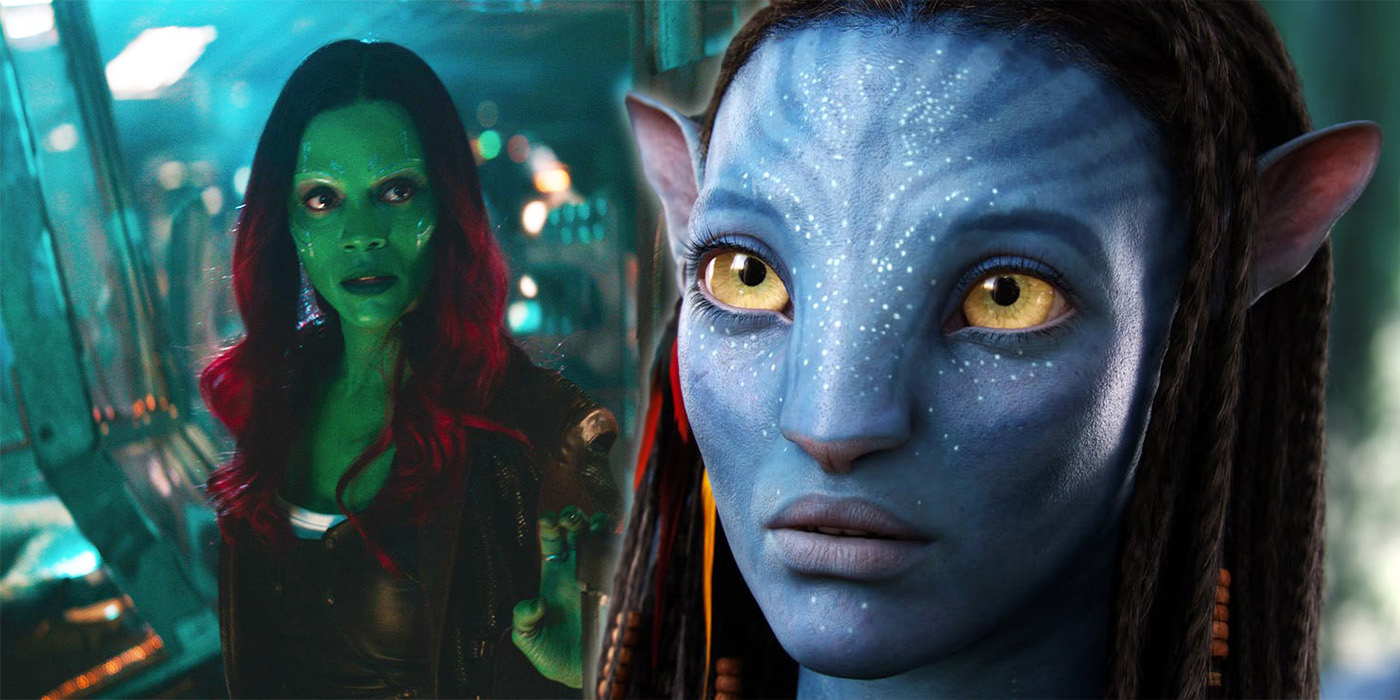 Avatar Zoe Saldana Look Wallpapers