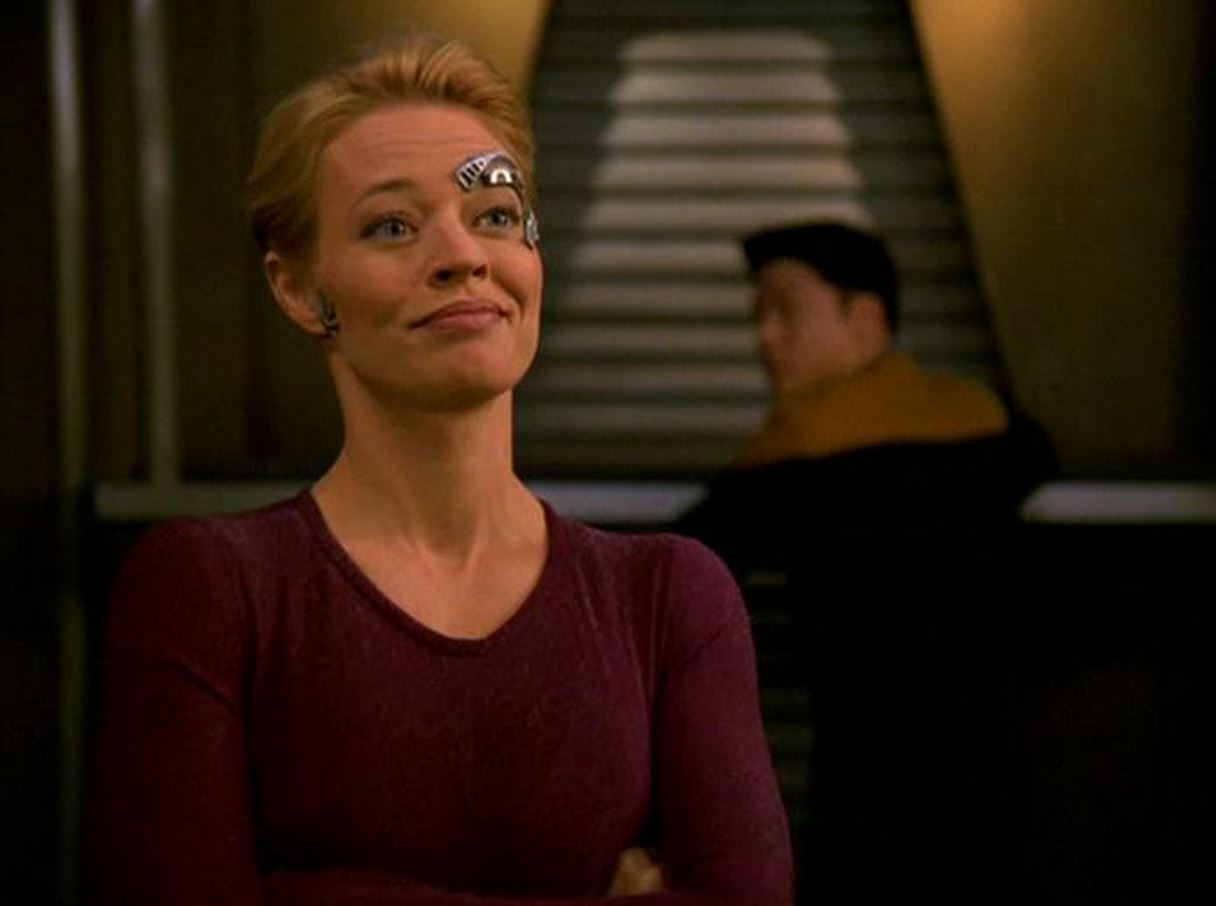 Star trek voyager seven of nine hookup