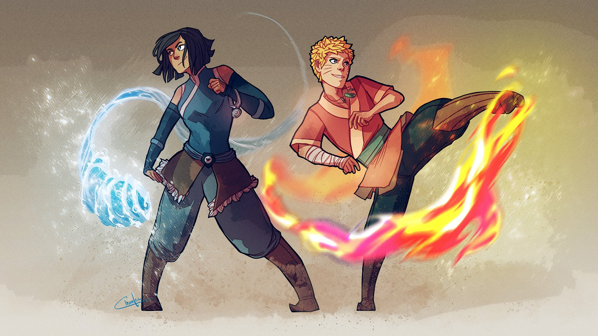 30 Fan Redesigns Of Avatar And Legend Of Korra Characters ...  30 Fan Redesign...