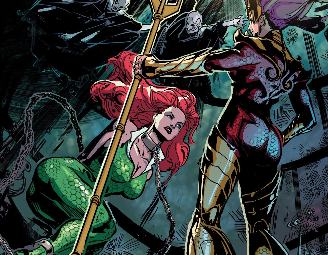 Aquaman: 30 Strange Details About Mera's Anatomy   ScreenRant