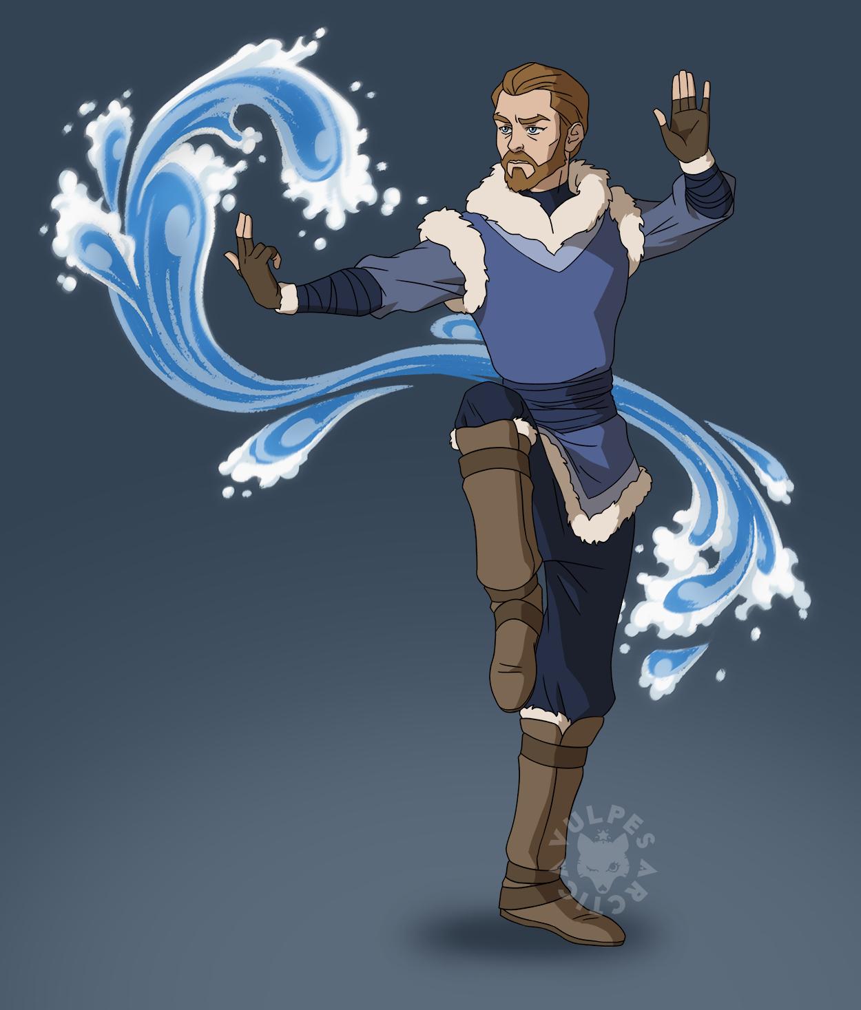 Cast Of Avatar Stars: 30 Fan Redesigns Of Avatar And Legend Of Korra Characters