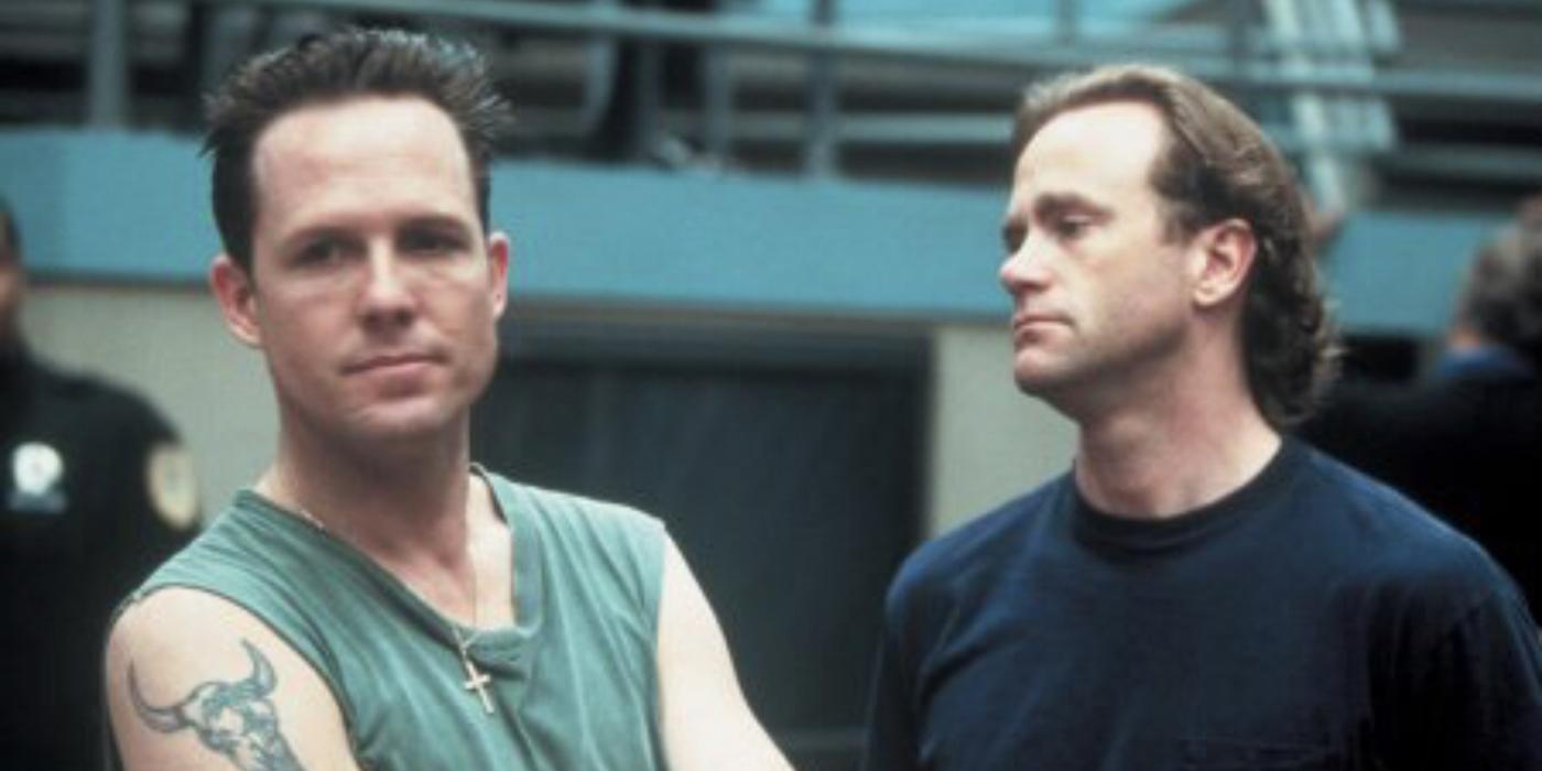 Dean Winters in prison in Oz.