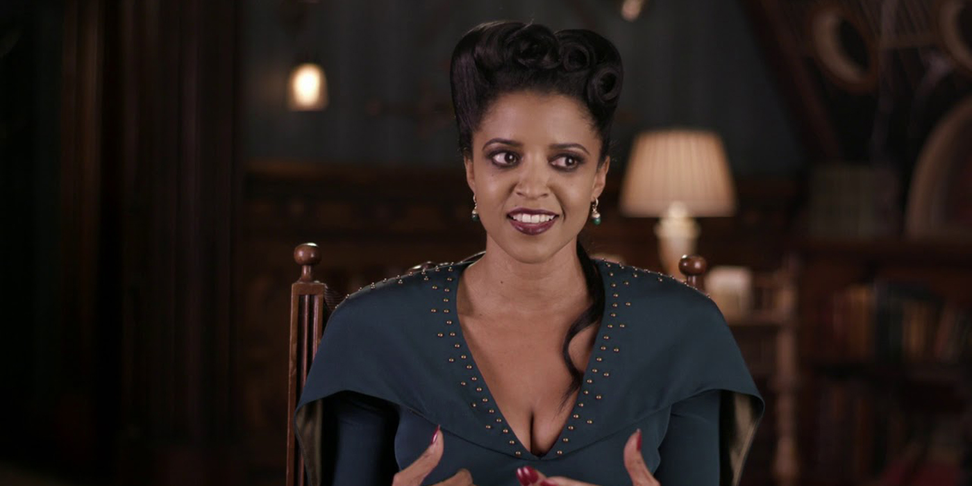 Renee Elise Goldsberry in The House With A Clock In Its Walls.