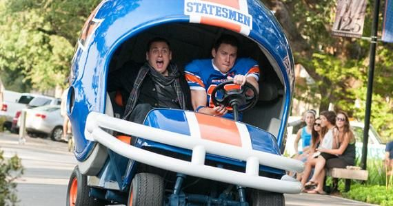 22 Jump Street Hill Tatum Helmet 22 Jump Street Trailer: Jenko & Schmidt Are A Power Couple