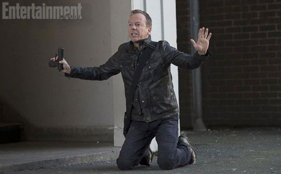 24 EW Exclusive 11 570x353 Kiefer Sutherland Puts His Hands up in 24: Live Another Day