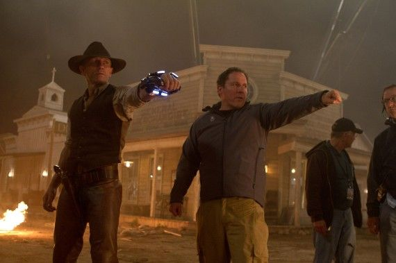 2401 D014 00382 R 570x379 Cowboys & Aliens Edit Bay Visit With Jon Favreau