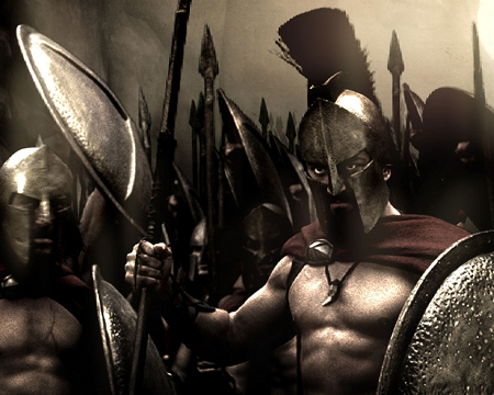 300 King Leonidas and the Spartans