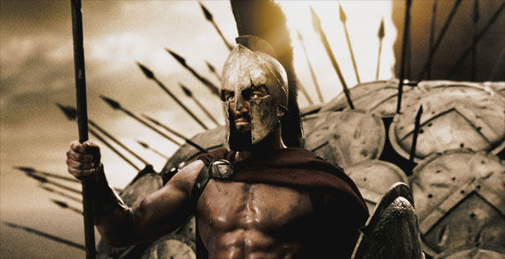 300 sequel king leonidas gerard butler 300 Getting the 3D Treatment?