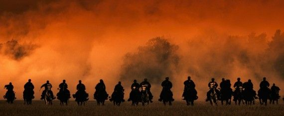 47 Ronin Movie Official Still Horses 570x233 47 Ronin Set Interview: Director Carl Rinsch Talks History, 3D & 300