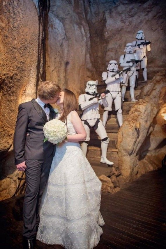 501st wedding 570x856 SR Geek Picks: YOLO Music Video, Middle earth Problem Solving, The 501st Crash Your Wedding, & More!