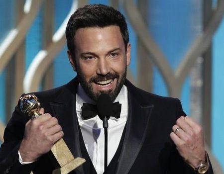 Ben Affleck wins for Argo at the Golden Globes