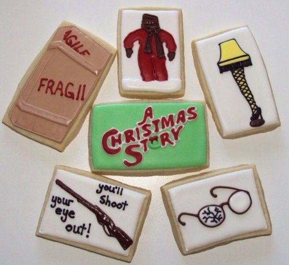 A Christmas Story Cookies 570x522 SR Geek Picks: Batmans Evolution, Meeting of the Movie Jokers, Walter White Look Alikes & More