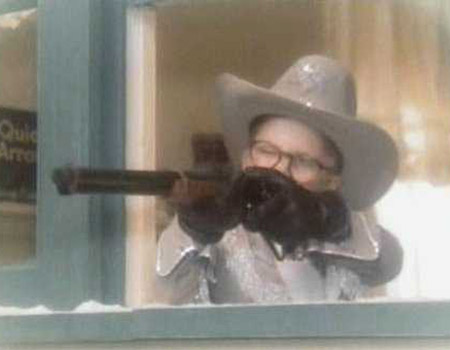 A Christmas Story dream scene