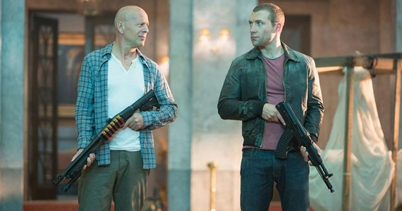 A Good Day to Die Hard Review Die Hard 5 starring Bruce Willis and Jai Courtney A Good Day to Die Hard Review