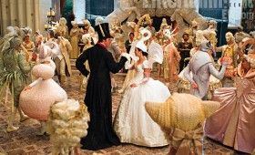 A masquerade in Snow White 280x170 Snow White Images Tease A Stylized Fairy Tale Re Imagining