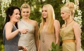 A pack of vampiric bridesmaids in Breaking Dawn 280x170 Breaking Dawn Photo Gallery Features Lots of Cuddling & Vampires