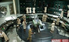 A science lab in Captain America 280x170 Official Thor and Captain America Movie Images