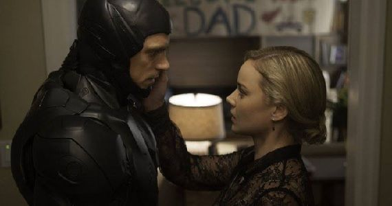 Abbie Cornish and Joel Kinnaman in RoboCop New RoboCop Featurette Focuses on Cast & Characters