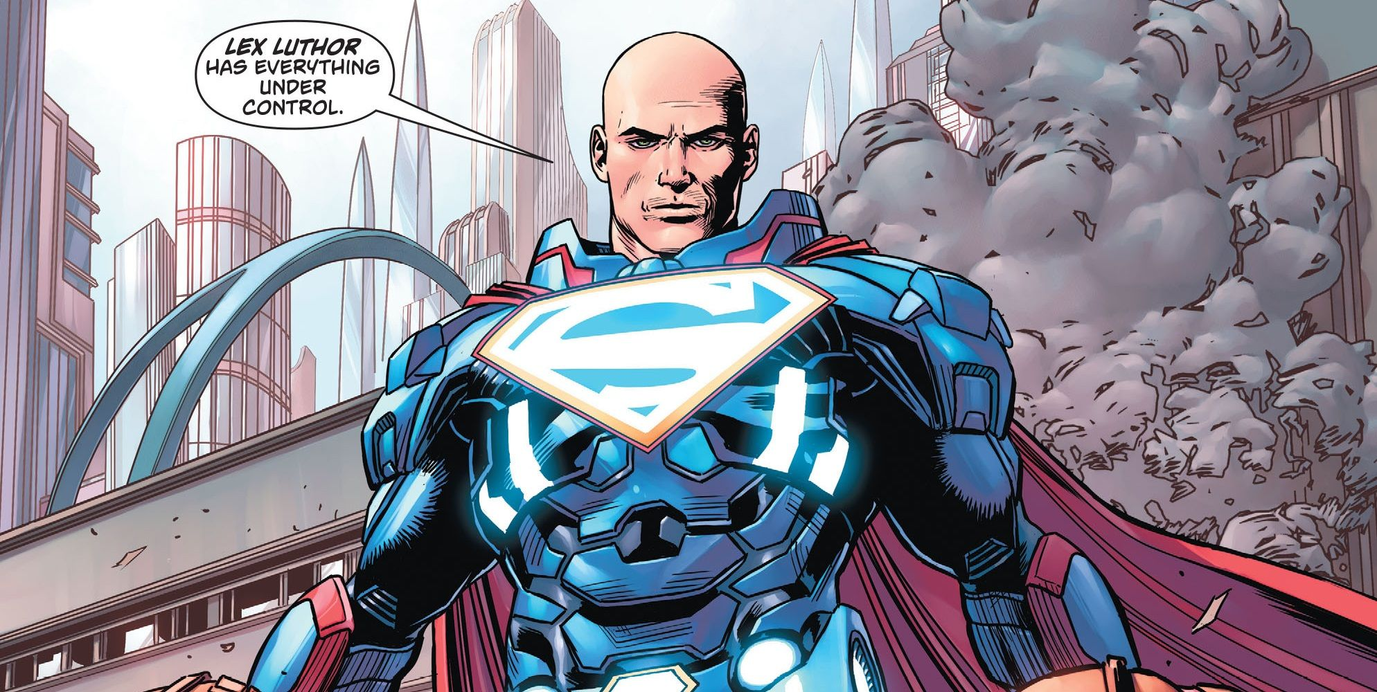 Lex Luthor Is Dc Comics Brand New Superman Screenrant