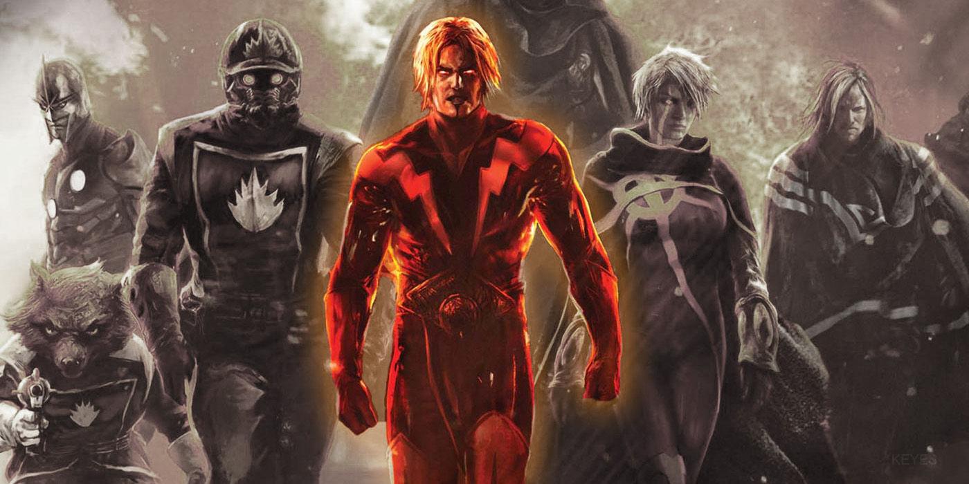 Adam Warlock (Marvel Annihilation Conquest 6 Cover) - Keyes Edit