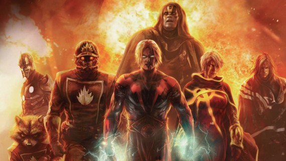 Adam Warlock Ronan Nova Guardians of the Galaxy 570x320 Bradley Cooper Offered Rocket Raccoon Role in Guardians of the Galaxy [Updated]