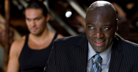 Adewale Akinnuoye Agbaje in Bullet to the Head Bullet to the Head Review