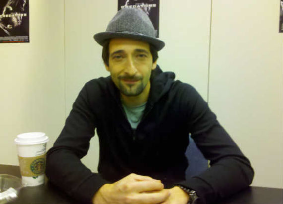 Adrien Brody Adrien Brody Talks Predators Sequel & Being an Action Hero